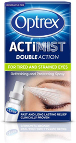 Optrex Double Action Actimist Eye Spray for Tired & Strained Eyes 10ml
