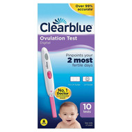Clearblue Digital Ovulation Test 2 Most Fertile Days - 10 Tests