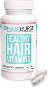 Hairburst Healthy Hair Vitamins - One Month Supply - 60 Capsules [No Box]