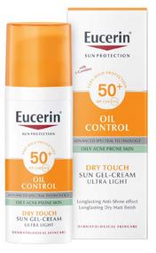 Eucerin Sun Oil Control Face Protection Sun Cream for Oily & Blemish Prone Skin SPF 50+, 50ml