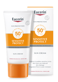 Eucerin Sun Protection Sensitive Protect Sun Cream SPF50+ 50ml