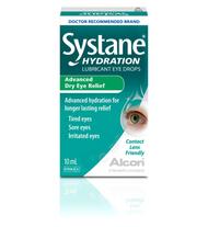 Systane Hydration Advanced Dry Eye Relief Lubricant Eye Drops 10ml