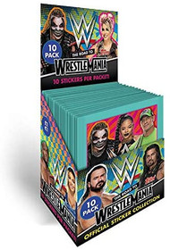 Topps WWE Stickers 2021 - The Road to Wrestlemania - Full Box