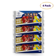 UCL Best of the Best 2021 - 7 Premium Cards (4 Pack)