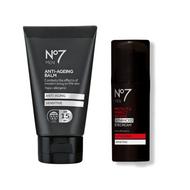No7 Men Anti-Ageing Balm and Protect & Perfect Eye Cream Set (Value Set £29)