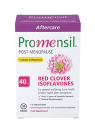 Promensil Post Menopause Aftercare Red Clover Isoflavones 40mg 30 Tablets