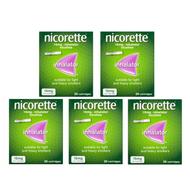 Nicorette Inhalator Nicotine 20 Cartridges 15mg (Bundle of 5)