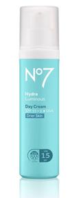 No7 HydraLuminous Day Cream SPF15 Drier Skin 50ml