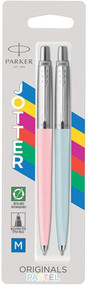 Parker Jotter Originals Pastel Blue & Pink Ballpoint Pen Set