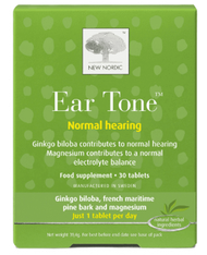 New Nordic Ear Tone Normal Hearing 30 Tablets