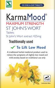 Schwabe Pharma KarmaMood Maximum Strength St John's Wort Extract 425mg 60 Tablets