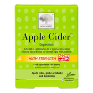 New Nordic Apple Cider High Strength 750mg 60 Tablets