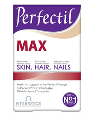 Vitabiotics Perfectil Max Skin Hair Nails - 84 Tablets