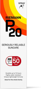 Riemann P20 Once A Day Seriously Reliable Sun Protection Spray SPF50 100ml