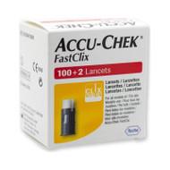 Accu-Chek FastClix Lancets Box of 100+2