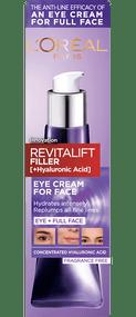 L'Oréal Paris Revitalift Filler [+ Hyaluronic Acid] Eye Cream for Face 30ml