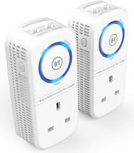 BT Broadband Extender Flex 1000 Powerline Adapter Kit