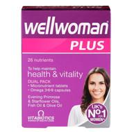 Vitabiotics Wellwoman Plus Omega 3∙6∙9-56 Tablets/Capsules