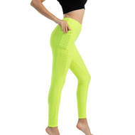 FRESNK High-Waisted Ultra Stretchy Leggings - Lime Green