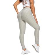 FRESNK High-Waisted Ultra Stretchy Leggings - Light Grey