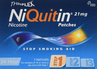Niquitin Thinflex CQ Patches 21mg Original - Step 1 - 7 Patches