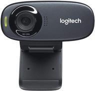 Logitech C310 HD Webcam - Black