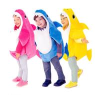 Cute Animal Family Shark Children's Costume - (3 Colours)