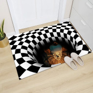 Funny Scary Halloween Visual Trap Carpet Mat - 6 Colours