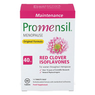 Promensil Menopause Original Maintenance Red Clover Isoflavones - 40mg 60 Tablets