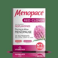 Vitabiotics Menopace Red Clover Dual Pack 56 Tablets/Capsules