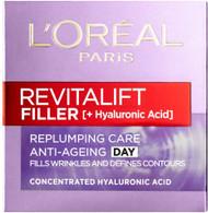 L'Oreal Revitalift Filler Hyaluronic Acid Replumping Anti-Ageing Day Cream 50ml