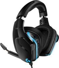 Logitech G635 Wired Gaming RGB Headset - Black