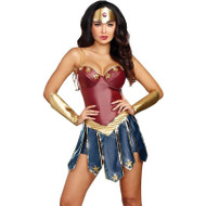 DC Wonder Woman Adult Costume - S - XXL
