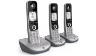 BT Advanced Z Triple Digital Cordless Telephone & Answer Machine - Silver