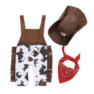 Baby Toddler Cowboy Outfit Costume