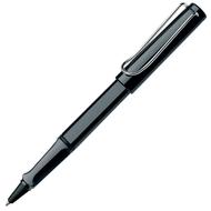 Lamy Safari Rollerball Pen M63 Black Chrome Blue Ink