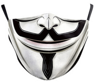 Halloween Face Mask for Adults - Anonymous Mask