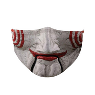 Halloween Face Mask for Adults - Scary Jigsaw Mask