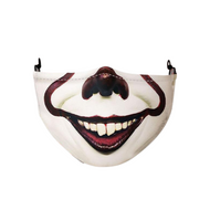 Halloween Face Mask for Adults - Scary IT Mask