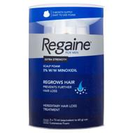 REGAINE for Men Hair Loss Extra Strength Scalp Foam 3 x 73ml