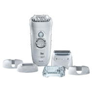 Braun Silk Epil 7 7-561 Women's Wet and Dry Cordless Epilator Electric Hair Removal with 6 Extras