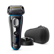 Braun Series 9 9240s Men's Electric Foil Shaver, Wet and Dry, Rechargeable and Cordless Razor with Pop Up Trimmer - Black