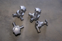 MASERATI 3500 MISTRAL INDY GHIBLI WATER VALVES SET OF 4