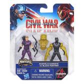 Marvel Figurines - Hawkeye vs Black Panther