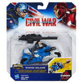 Marvel Winter Soldier Figure w/ Action Cycle