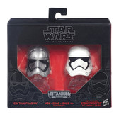 Star Wars The Black Collection - Captain Phasma & Stormtrooper Helmet