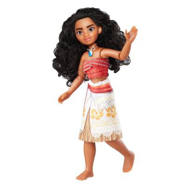 Moana Adventure Doll Display