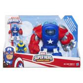 Marvel Super Hero Adventures Captain America Space Armour