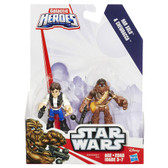 Star Wars Galactic Heroes Han Solo and Chewbacca