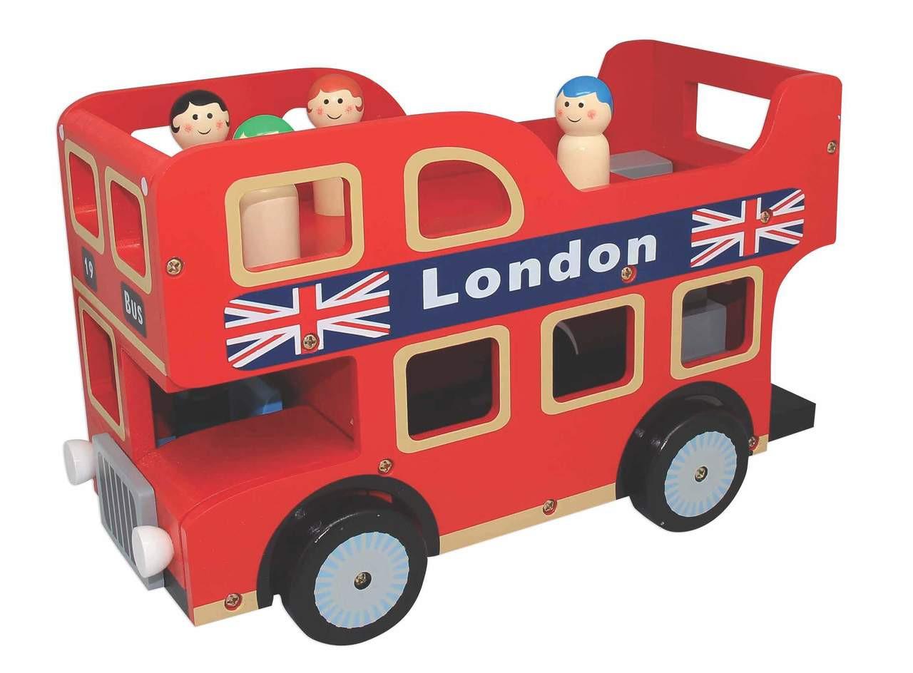 Bubbadoo Wooden London Bus